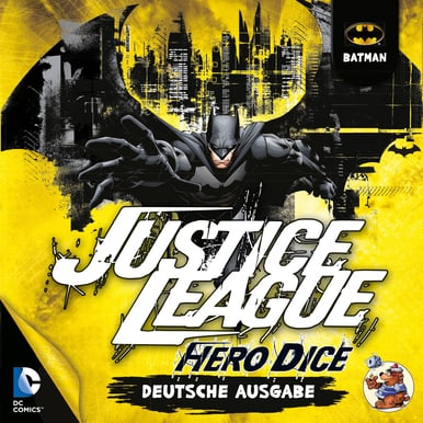 Justice League: Hero Dice • Batman-Set |  | Artikelnummer: 4015566100329