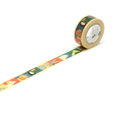 mt for Kids Animal Masking Tape  | Bunte Tiere / Colourful Animals | Artikelnummer: MT01KID10Z