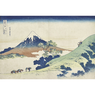 Thirty-six Views of Mount Fuji | Inume mountain Pass in Kai province | Artikelnummer: PODE-KI-10998-A3S