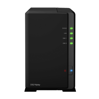 Synology DS216Play incl. 8TB (2 x 4TB) WD RED NAS RAID Server Bundle  | ab Lager lieferbar! | Artikelnummer: Synology DS216Play 2-Bay 8TB