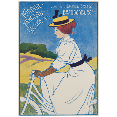 Kondor - Fahrradwerke A.-G. | Advertising Poster around 1910 | Artikelnummer: POD-PI-3384-A3