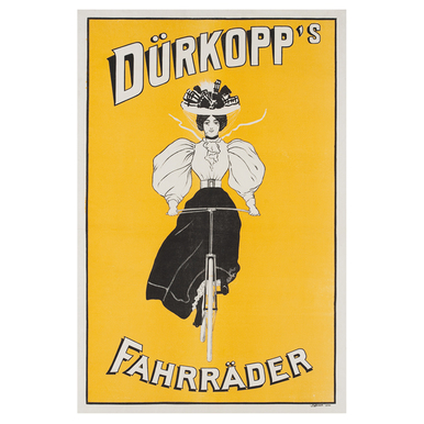 Dürkopp´s Fahrräder | Advertising Poster around 1905 | Artikelnummer: POD-PI-2756-A3S
