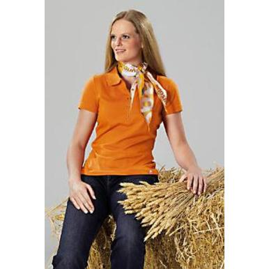 Damen-Team-Poloshirt, orange | Damen | Artikelnummer: ML021