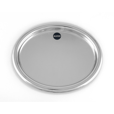 Oval tray Josef Hoffmann | Produced by Alessi | Artikelnummer: Design_014_32_26