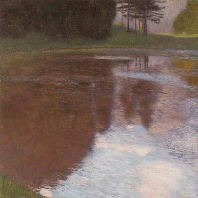 GUSTAV KLIMT: A Morning by the Pond |  | Artikelnummer: POD-LM-02007-A1SE