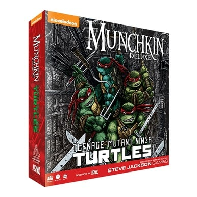 Munchkin: Teenage Mutant Ninja Turtles |  | Artikelnummer: 827714015270