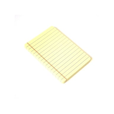 Haftnotizen mini Legal Pad / Sticky notes mini legal pad  | 5 Stück / 5 - pack | Artikelnummer: RSVP9