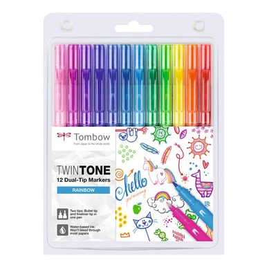 TwinTone 12er Pack  | Rainbow Colors | Artikelnummer: 6504-5653-4426-1