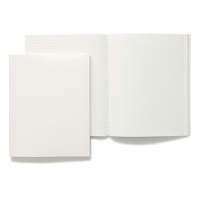 Hartovasilion liniertes Notizbuch / Ruled Notebook | Weiß / White | Artikelnummer: harto_weiss
