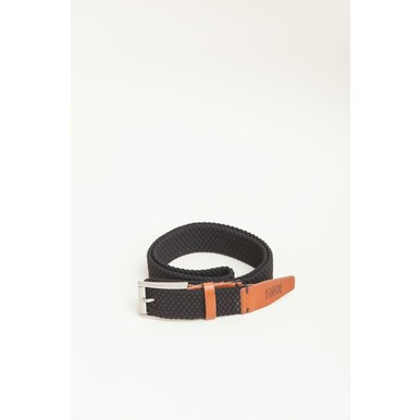 Vegane Gürtel Made in Poland | Black | Artikelnummer: belt_woven_black
