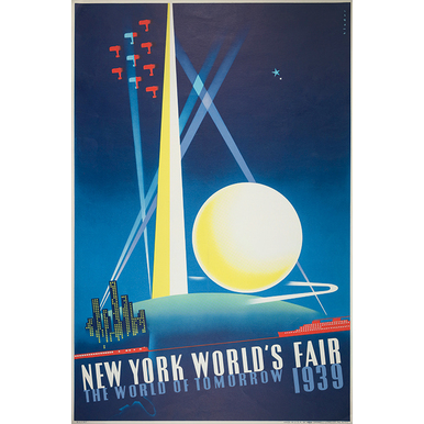 Advertising poster 1933 | New York World's Fair | Artikelnummer: PODE-PI-4198-A4S