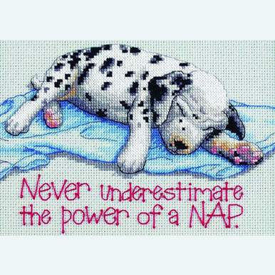 Power Nap - borduurpakket met telpatroon Dimensions |  | Artikelnummer: dim-16750