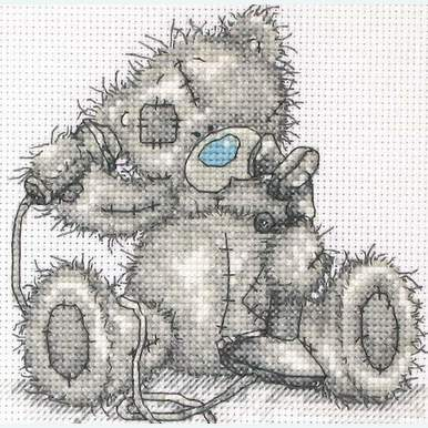 Give me a Call - Me to You - Tatty Teddy borduurpakket met telpatroon - Coats Crafts |  | Artikelnummer: cts-tt105
