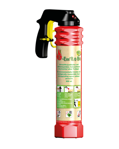 F-Exx 8.o Bio | Bio-extinguisher - The eco-friendly high-performance extinguisher | Artikelnummer: 1-570-000-00-48