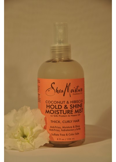 Moisturizing Sprays SheaMoisture Coconut & Hibiscus Hold & Shine Mist (Spray)
