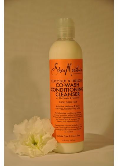 SheaMoisture Coconut & Hibiscus Conditioning Cleanser