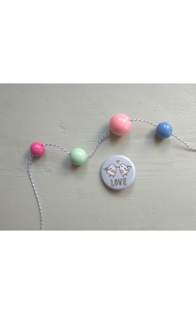 Button LOVE  |  | Artikelnummer: 68936551