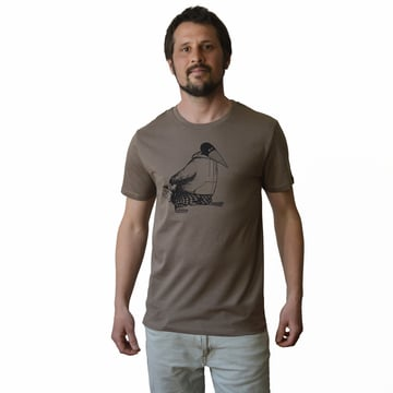 Blaubeer Stig T-Shirt L XL | walnut brown | Artikelnummer: Cmig214