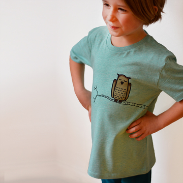 Grenuggla T-Shirt | mid heather green | artikelnummer: Cmig316