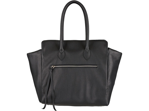Kate | Day Bag Kalbsleder schwarz M  | Artikelnummer: NB 202