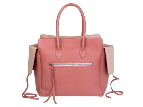 Kate | Day Bag Stierleder rose tee | Artikelnummer: NB 203