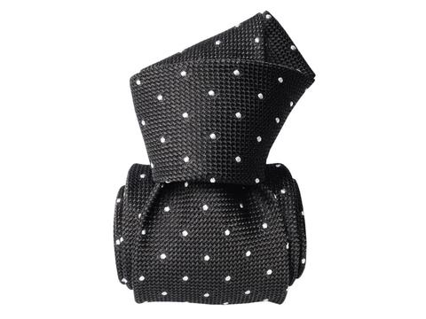 Grenadine garza fina dots Black | Product code: 1023