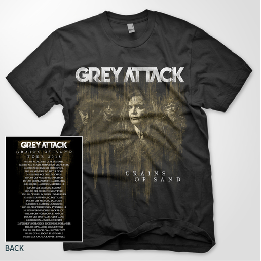 GREY ATTACK T-SHIRT - GRAINS OF SAND |  | Artikelnummer: 700001