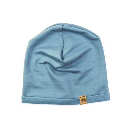 Slate Blue Basic Beanie 3-6 Monate | Bio Sweat | Artikelnummer: 17978646