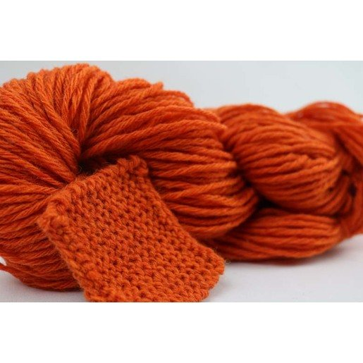 Berglandwolle Orange Dick | Strickwolle je 100g | Artikelnummer: BW_27_L