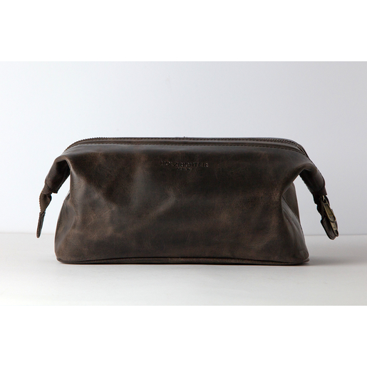 Washbag (M) | Dark-Brown | Artikelnummer: HR-WB-5-1-db