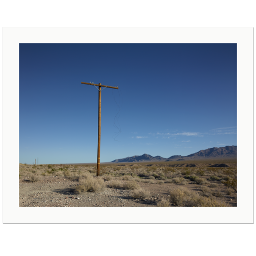 Torn Wires | Death Valley National Park, CA, USA, 2013