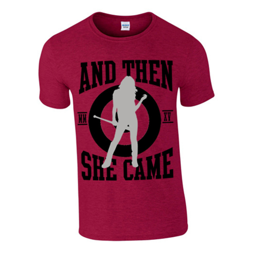 FULL BASEBALL GIRLIE RED |  | Artikelnummer: 100037