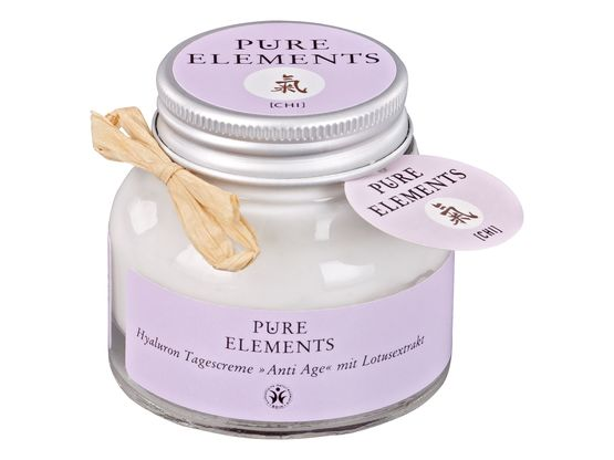 Pure Elements Anti Age Hyaluron Tagescreme 50 ml | Artikelnummer: 1000014