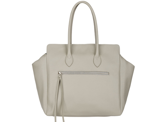 Kate | Day Bag Kalbsleder Grau | Artikelnummer: NB 203-7
