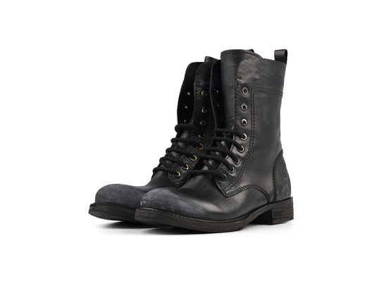 GIRLS - Combat Boot - BOND Schwarz | Thomas Hayo for CRICKIT | Artikelnummer: Valerie00255122