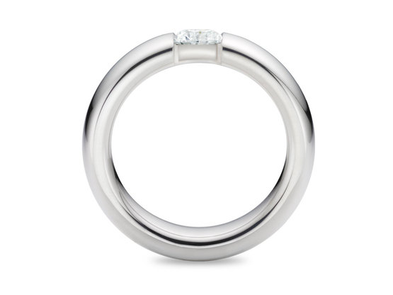 Diamantring Form 0.50 Karat in Premium Qualität | 950er Platin - Brillant in G - VS1 | Artikelnummer: FORPT050G