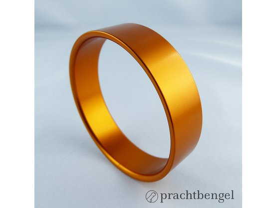Aluminium Cockring Orange | Pop Art | Artikelnummer: CA-O-54