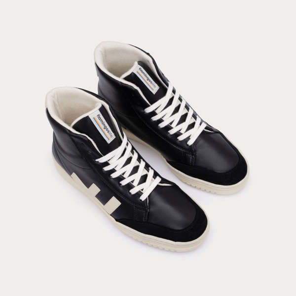 FLAMINGOS' LIFE Sneaker OLD 80's black/ivory