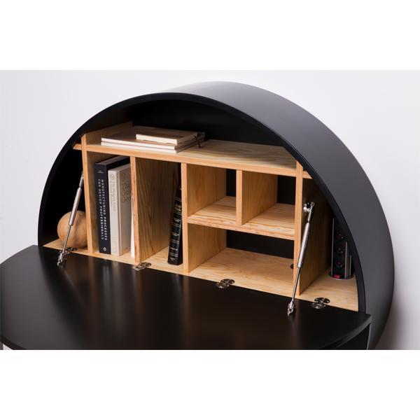 moderner sekret r m bel von emko in schwarz. Black Bedroom Furniture Sets. Home Design Ideas