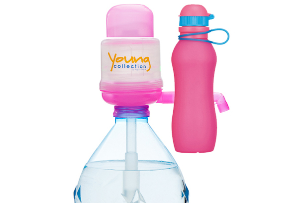 Paquet Special SP  1 pink 700 pink |  1 Pump Young Collection pink plus Viv Bouteile 700ml pink | numéro d'article: 1 YCP plus VIV SP  pink 700