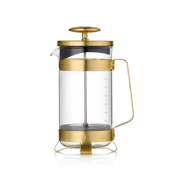 Kaffeekanne Barista & Co  French Press (Electric Gold)