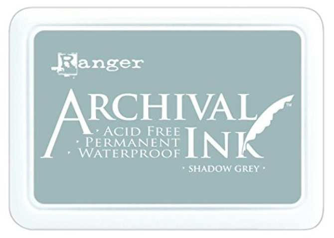Ranger Archival Ink Pad Shadow grau