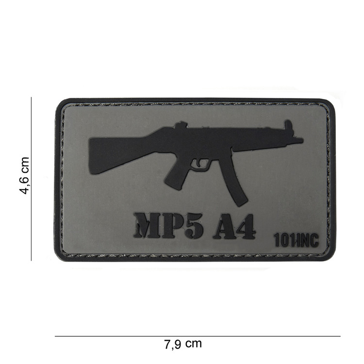 Waffenpatch, MP5 A4 | 3D Rubberpatch | Artikelnummer: INC3764