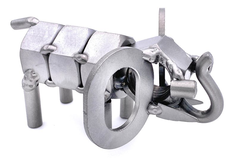 elephant metal art design data-image-id=