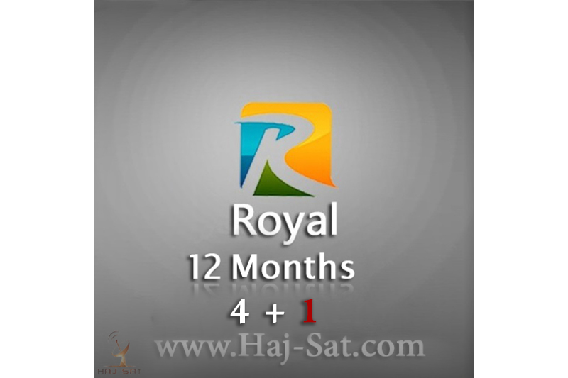 Royal Royal IPTV Subscription 12 Months x 4+1 Free