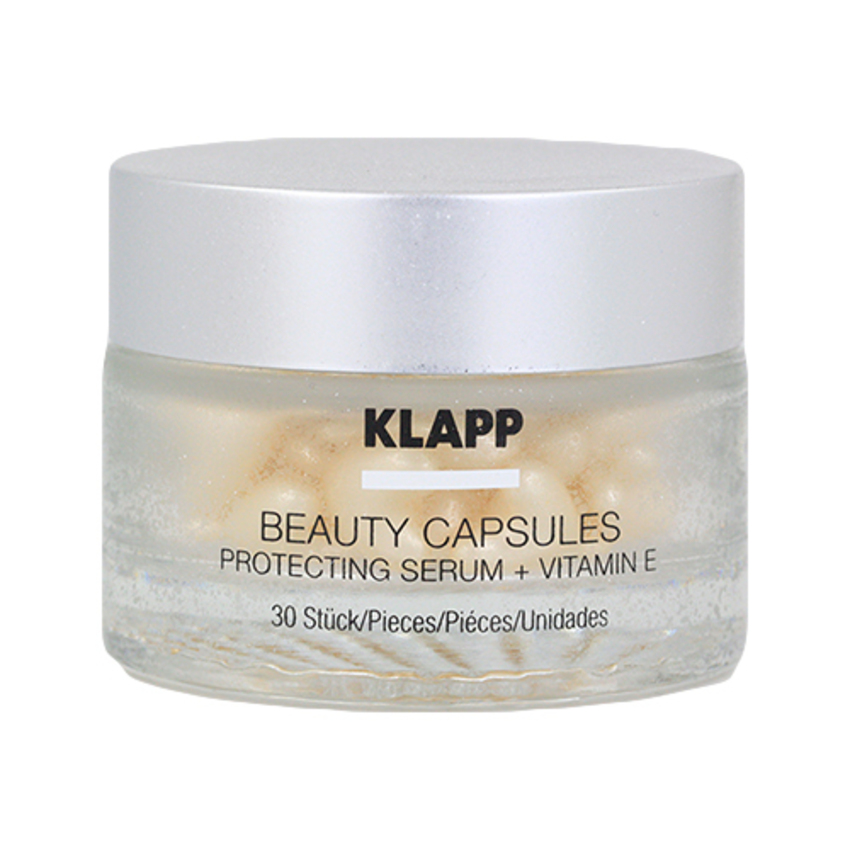 Klapp Beauty Capsules Protecting Serum + Vitamin E 30 St.