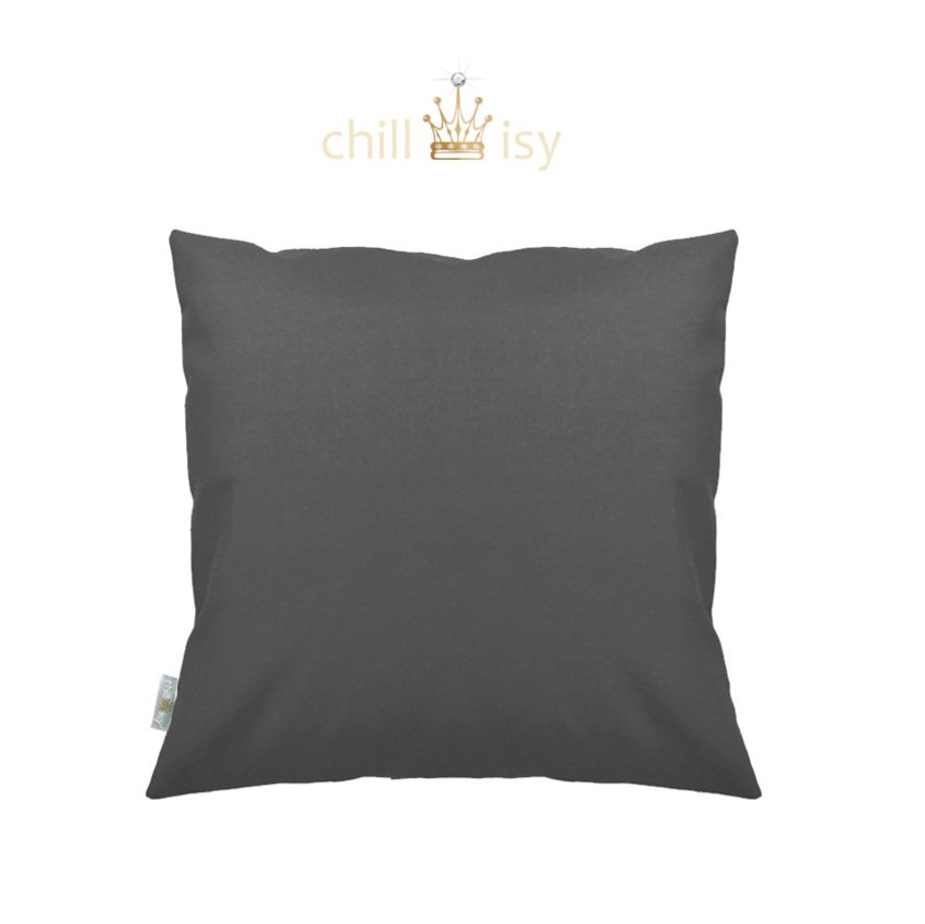 Gartenkissen in Anthrazit 50x50 cm kaufen | Shop CHILLISY