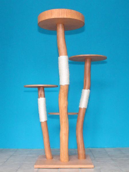 kratzbaum naturholz 163 cm naturkratzbaum 0585 diworo. Black Bedroom Furniture Sets. Home Design Ideas