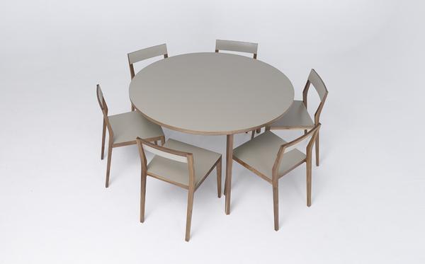 runder k chentisch 130 cm aus esche mint furniture. Black Bedroom Furniture Sets. Home Design Ideas