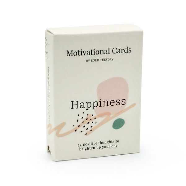 Motivationssprüche Happiness Kartenset